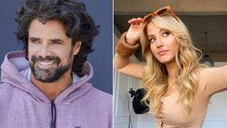 Luciano Castro y su novia, Florencia Vigna