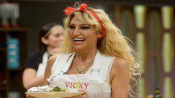Vicky Xipolitakis no supero la prueba de este martes en Masterchef Celebrity