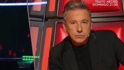 Ricardo Montanercomo jurado enLa Voz Argentina