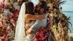 Diego Torres y Débora Bello se casaron, luego de 16 años de relación