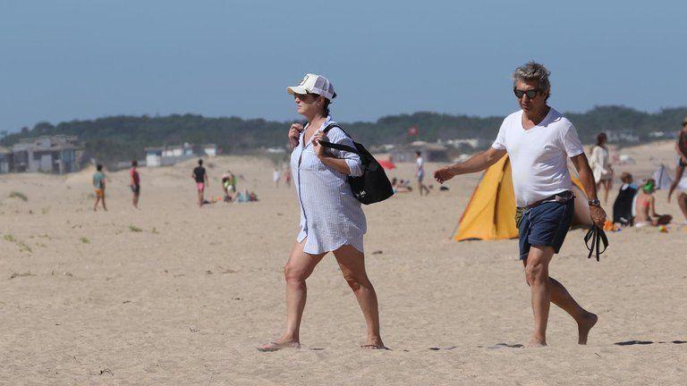 El actor Ricardo Darín y su esposa disfrutarán de la playa en Punta del Este