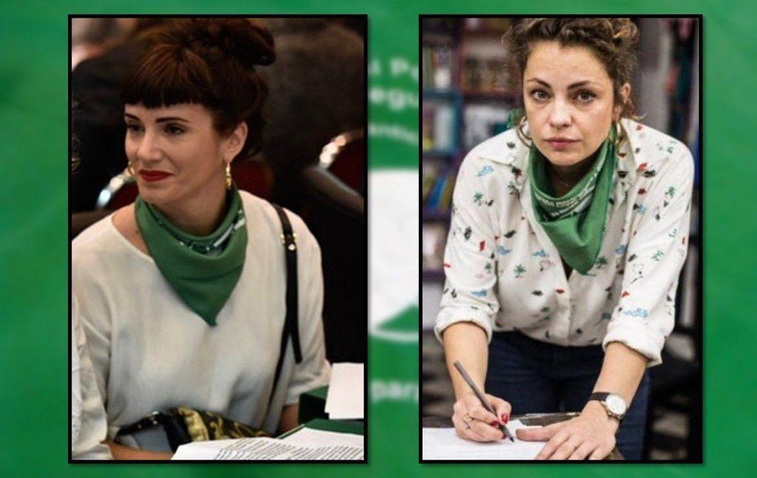 Increíble: Denunciaron a Griselda Siciliani, Dolores Fonzi y al colectivo de actrices por asociación ilícita