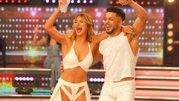 Florencia Vigna junto a Facu Mazzei, pareja que renunció a La Academia de Showmatch