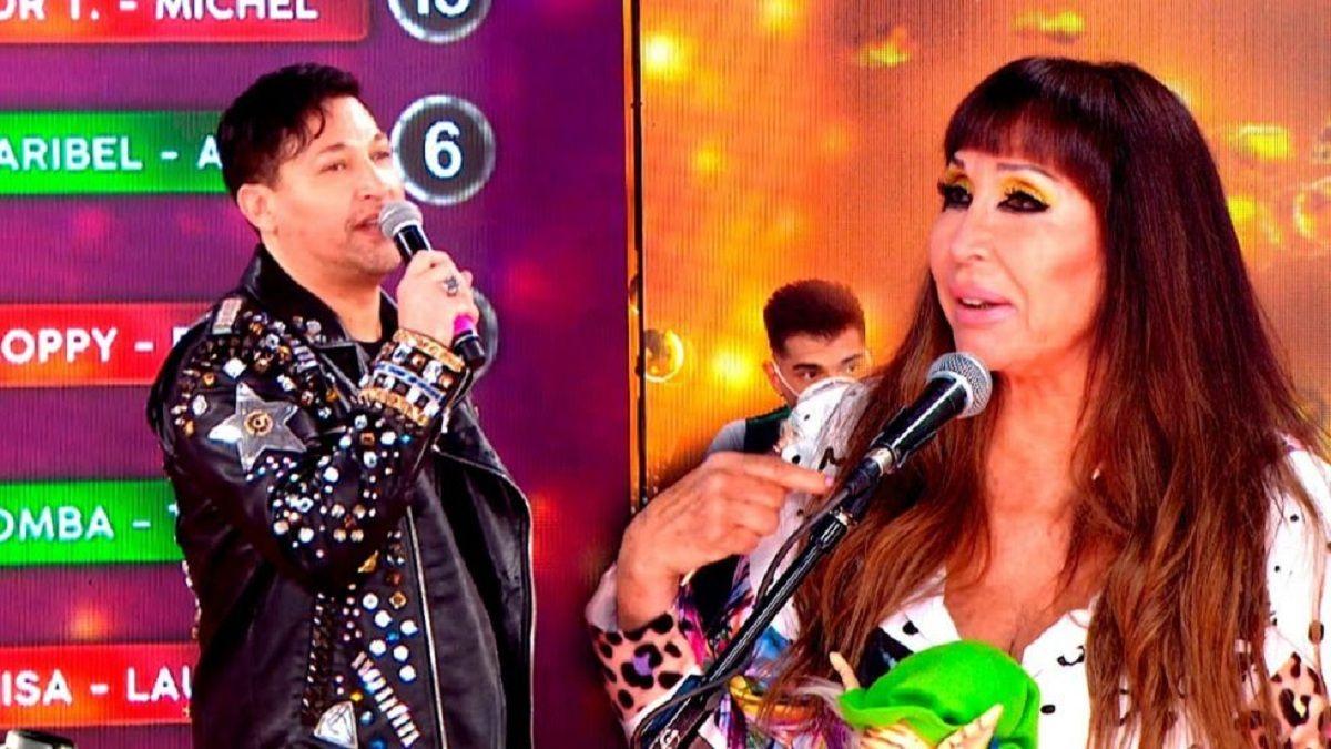Moria Casán contundente ante la amenaza de renuncia de Pablito Ruiz del Cantando
