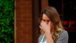 ¿Otra vez con...? Rocío Marengo a pura lágrima en Masterchef Celebrity