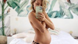 Noelia Marzol tiene Covid-19, con seis meses de embarazo