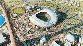 El estadio Al Bayt, donde se disputará el partido inaugural del mundial Qatar 2022