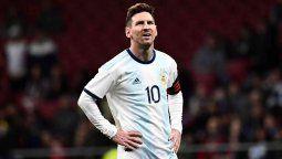 Lionel Messi el capitan de la selección Argentina envió un mensaje a sus fanáticos