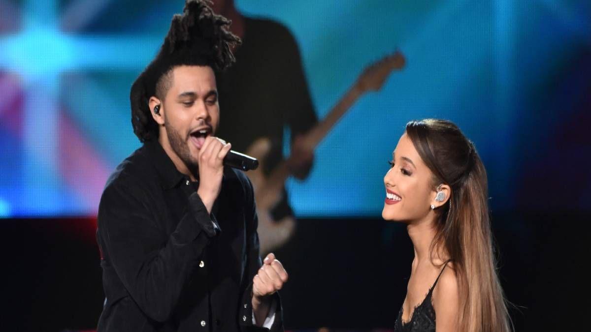 ¡Super dueto! Ariana Grande grabó con The Weeknd