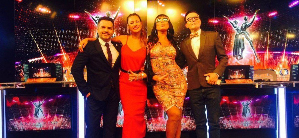 Los miembros del jurado del Bailando dejaron plantada a Pampita con su película