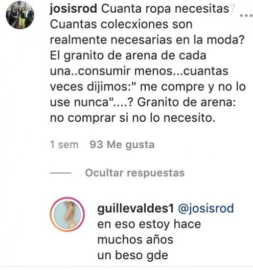Guillermina Valdés se cruzó con una seguidora