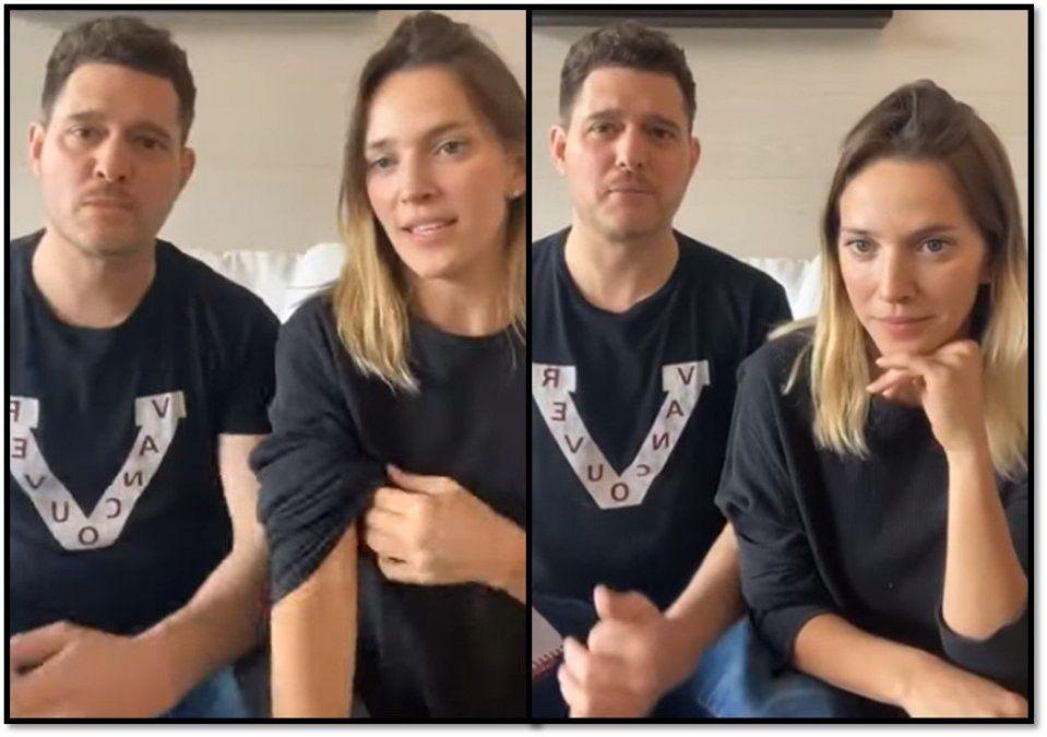 Michael Bublé realizó un video, habló en español y fue tendencia por la divertida traducción de su nombre