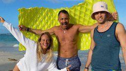 Sergio Lapegüe emocionado por seguir vacacionando con sus hijos