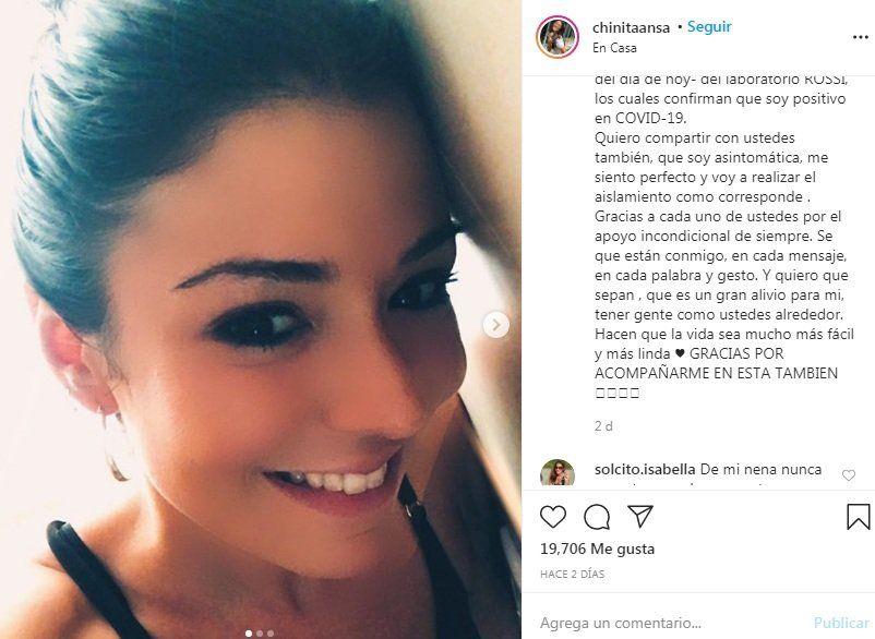 Josefina Ansa en Instagram