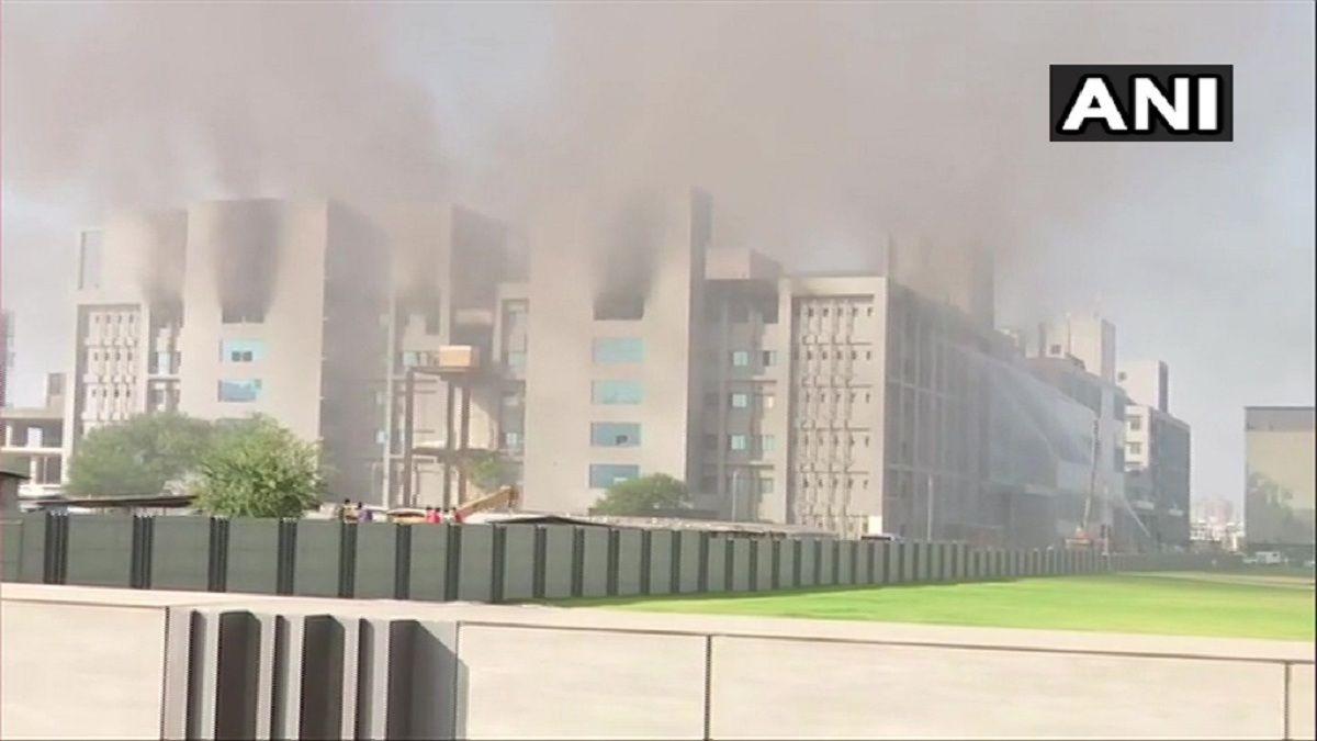 Se incendió la sede principal de fabricante de vacunas contra el coronavirus