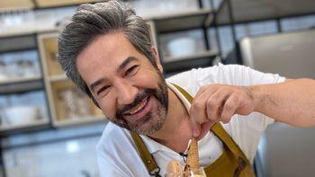 Mauricio Asta, pastelero y jurado de El Gran Premio de la Cocina