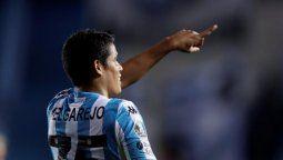 Lorenzo Melgarejo anotó el único gol en el encuentro entre Racing y Boca Juniors por la Libertadores