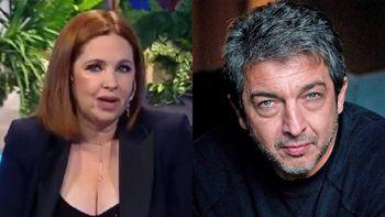 Andrea del Boca habló de su relación con Ricardo Darín