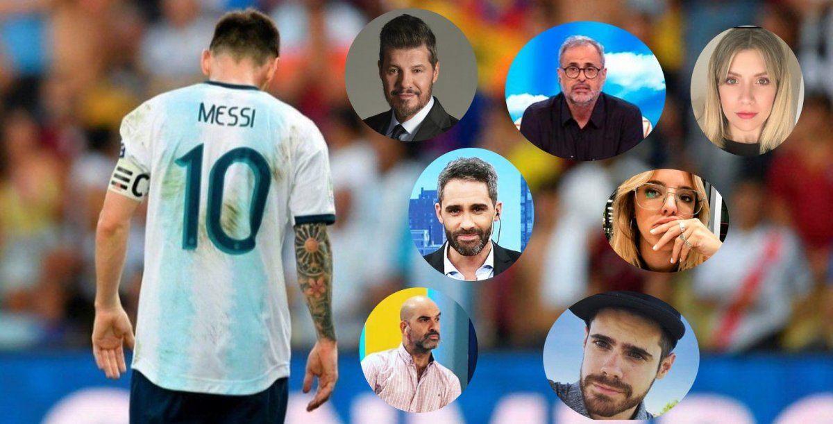 Argentina perdió ante Brasil en la Copa América: los famosos se mostraron indignados por el resultado