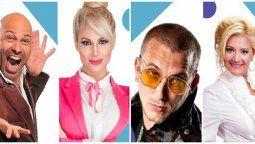Estos son algunos de los famosos que están en la aplicación, cobrando por sus saludos