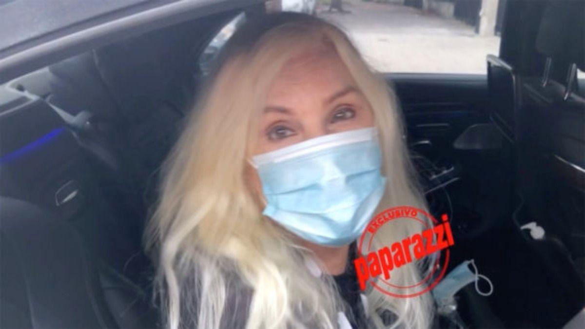 Paparazzi tuvo en exclusiva la foto de Susana Giménez luego de su llegada a la Argentina