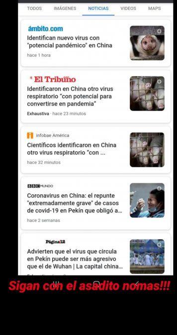 Nicole Neumann culpó a los carnívoros de propagar un nuevo virus en China
