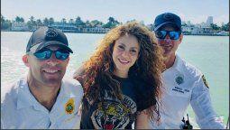 ¡Bajo perfil! Shakira disfrutó de unas discretas vacaciones