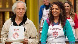 Boy Olmi y Patricia Sosa no pudieron con la última prueba de Masterchef Celebrity
