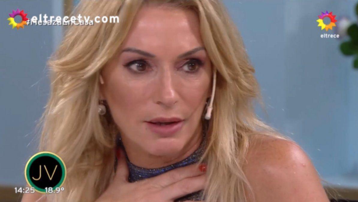 Yanina Latorre se quiere ir a vacunar en Miami