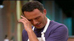 No es lo mío Fernando Carlos se quebró en Masterchef Celebrity