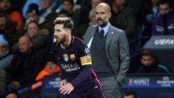 Guardiola habló sobre la salida frustrada de Lionel Messi
