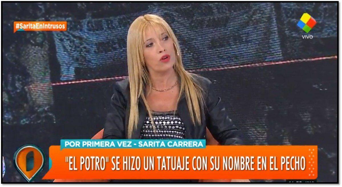 Sarita, el gran amor de Rodrigo culpó a Betty Olave por la ruptura: Ella me llamaba ángel negro