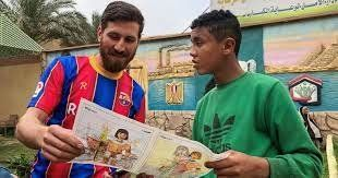 ¡Igualito! Lionel Messi tiene un doble en Egipto