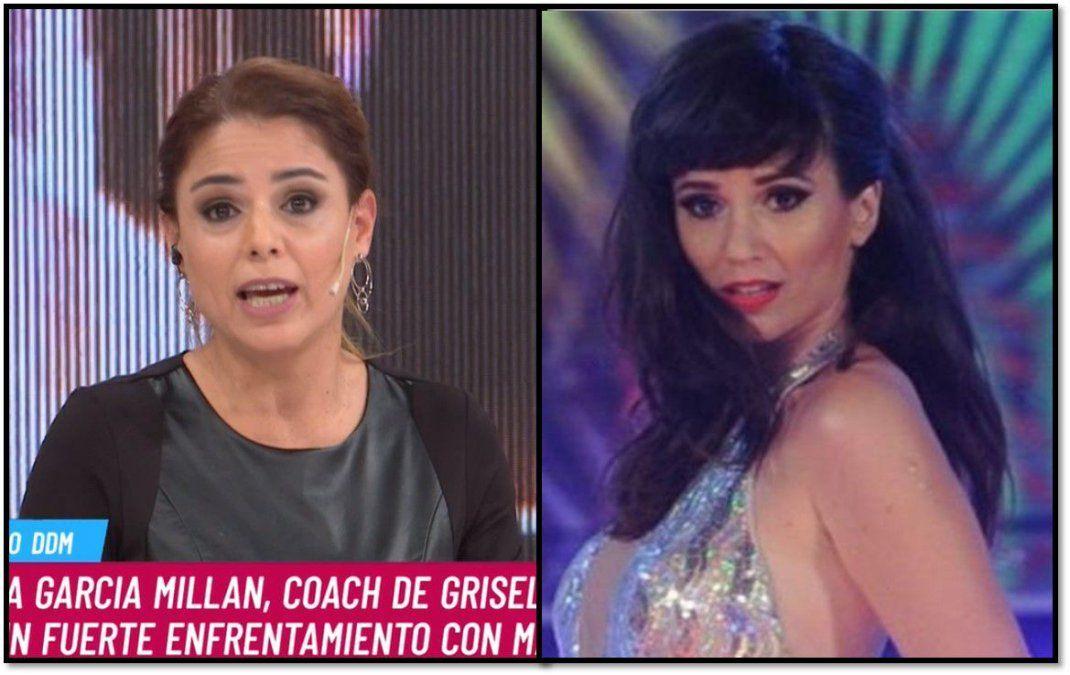 Dura respuesta de Marina Calabró a Griselda Siciliani, quien dijo que maltrató a su coach