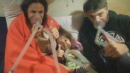 El relato de María Fernanda Callejón luego del accidente con gas que la dejó internada junto a su familia