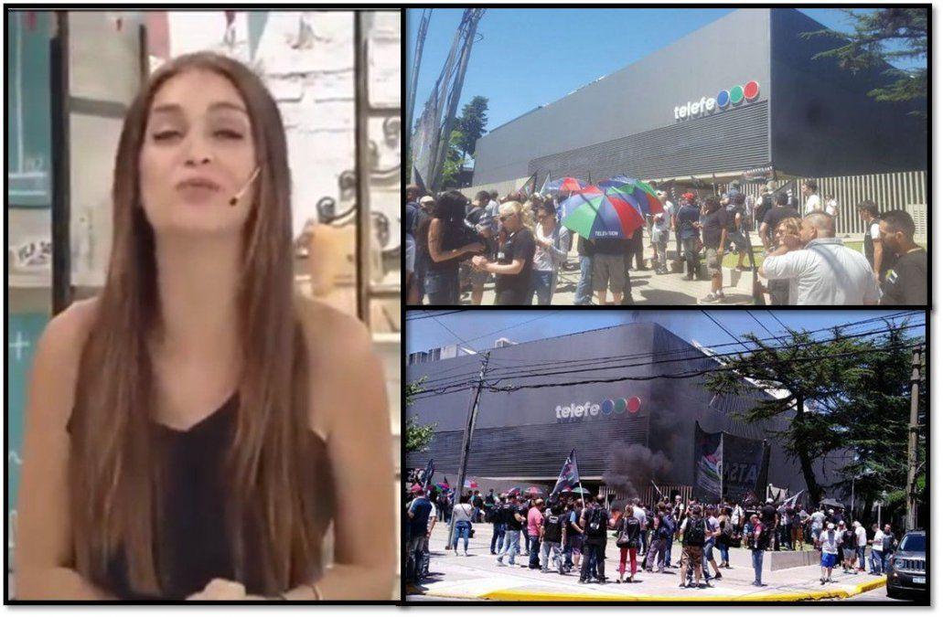 Paro sorpresivo en Telefe: Levantaron la programación y Zaira Nara se despidió a minutos de comenzar Morfi