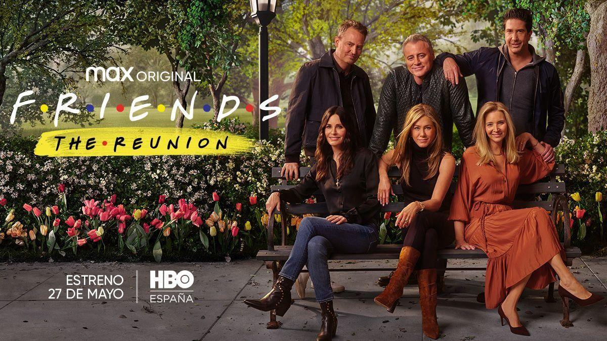 Los actores de la serie Friends se reunirán en la plataforma de HBO Max a partir del próximo 27 de mayo