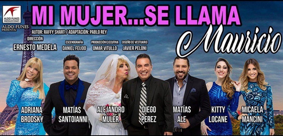 Mi Mujer Se Llama Mauricio llega al Teatro La Casona