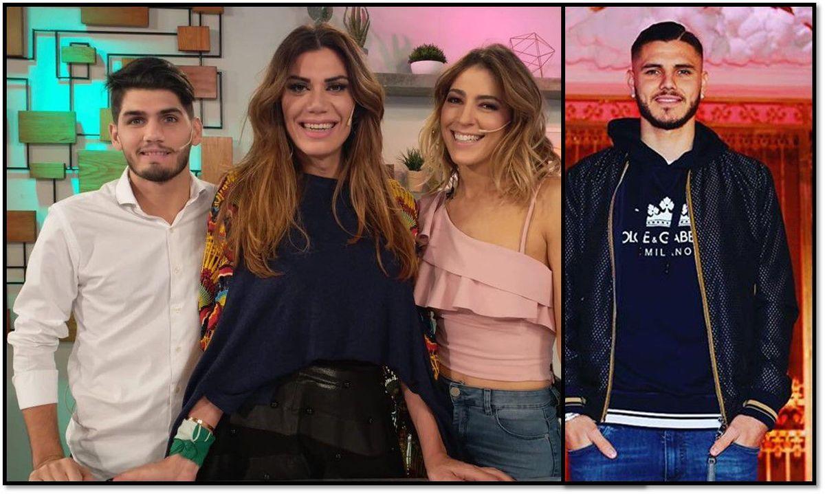 El panelista doble de Mauro Icardi: acompaña a Flor de la Ve y es igual al marido de Wanda