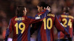 ¡Sentido! Lionel Messi y su pésame a Ronaldinho
