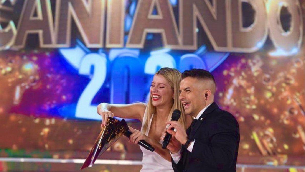 Laurita Fernández y Ángel de Brito conducen el Cantando 2020