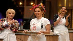 Analía Franchín agradeció el gesto de Leticia Siciliani en la gala de eliminación