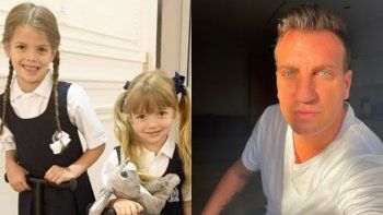 ¿Maxi López buscó a las hijas de Mauro Icardi al colegio?