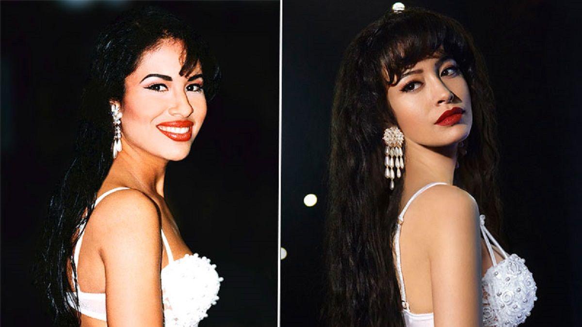 La actriz Christian Serratos interpretará a Selena Quintanilla en Selena