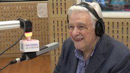 Hoy en Radio Nacional se celebrará el cumpleaños 82 de Héctor Larrea