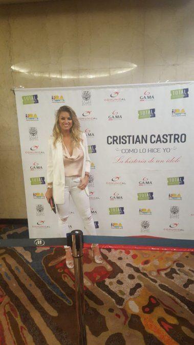 Cristian Castro deslumbró con su show y quedó impactado por Ailén Bechara