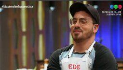 Fede Bal pidió ser enviado a la gala de eliminación de Masterchef Celebrity