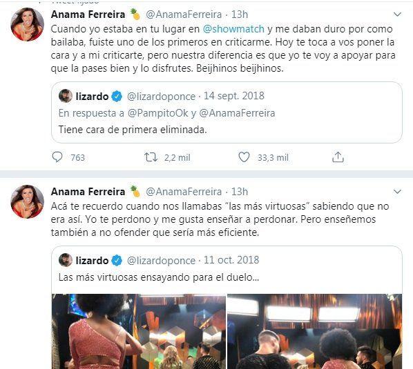 Tuit de Anamá Ferreira