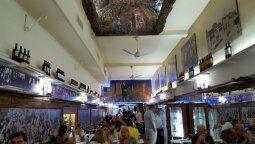 La pizzería los inmortales se inauguró en Buenos Aires en 1952