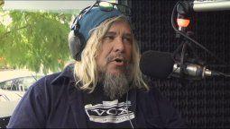 El cantante de la famosa banda de rock Masacre, Walas, estuvo una semana internado con una neumonía bilateral agravada por el Coronavirus.